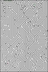 Maze 1 (Difficulty 8/10) by oromis95