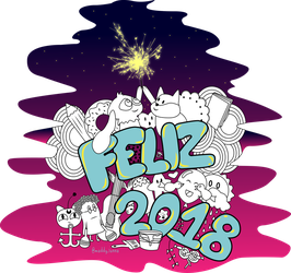 Happy 2018 by Maddy-Lunna