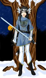 Rind - Page of Swords by ovirginsaint