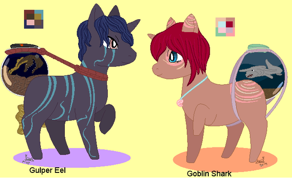 Halloween Biome Adopts- CLOSED and REVEALED by DoodleBug-Adoptable