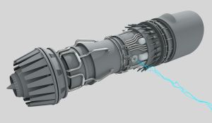 Pod Racer Engine WIP by James-Havoc