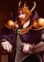 Asgore Dreemurr by uncomfortable-spider