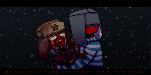 SSSR and Russia..(countrynumans) by Suzanna-Runya