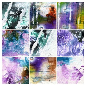 Abstract painting texture pack 3 by rev-jesse-c-stock
