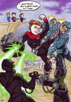 Janeway VS the Universe by Raax-theIceWarrior