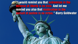 Barry Goldwater on Extremism and Moderation by JanetAteHer
