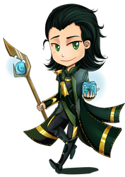 Loki: Looking for this? by Dreambeing