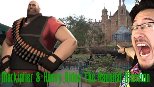 Markiplier And  Heavy Rides The Haunted Mansion by Legodecalsmaker961