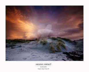 Arisaig Sunset by ArwensGrace