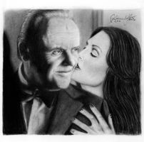 Hannibal and Clarice by puddingohr