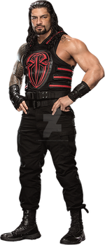 MSE-Roman Reigns render by MSEmrstylesedits