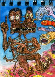Running of the Worms by kjas