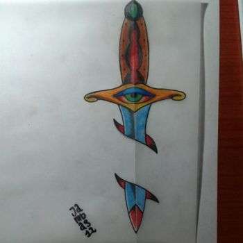 dagger traditional by Jambasta2