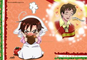 Spain and Romano by sara by Sara-Sakurahime