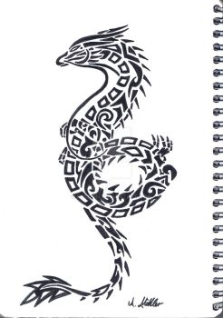 chinese dragon 1 by Relttim