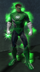 Green Lantern New 52 (DC Universe Online) by VexylGraphics