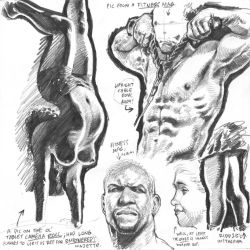 Life drawings from photoreference, 2017-02-08 by AdamWarren