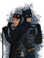 The Cat and The Bat by pencilHead7