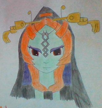 Princess Midna by bibblebobble12