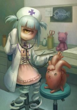 Playing doctor by Daiyou-Uonome