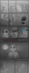 Im here - Sans and Papyrus UT | SPOILERS | by xNeonKnight