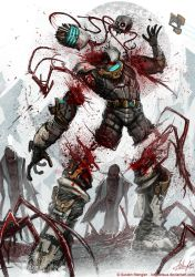 Dead Space 3 - Divided Teamwork by AustenMengler