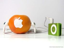 I want to be an apple XD by palomi
