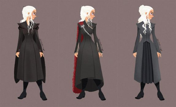 Dany's costumes by linxchan91