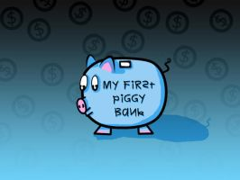 My First Piggy Bank by Tommymommy