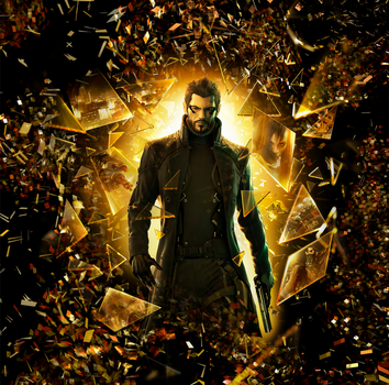 deus ex human revolution lp by XLR8gfx