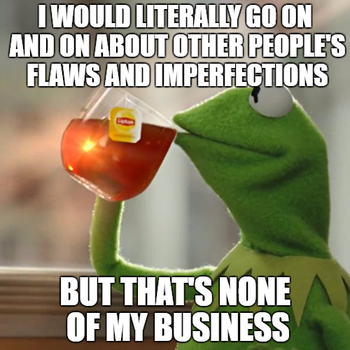 None of My Business Meme by yourhell99