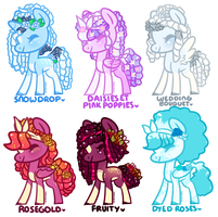 roses et bouquet adopts [closed] by pinktoys