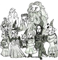 Wizarding World chat by salemcattish