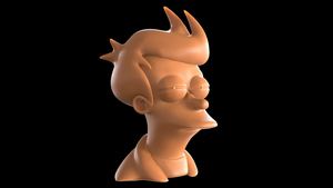 Futurama Fry ('Not sure if' meme) bust by romanpapush