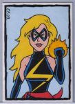Ms Marvel Campy Card by ElainePerna