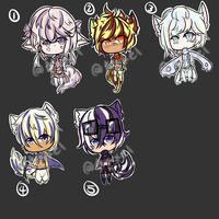 Kemonomimi Adopt Batch [OPEN!] by Axxelerator