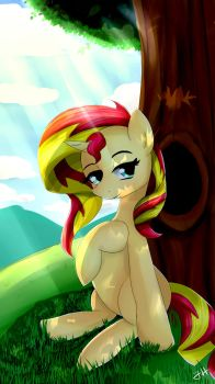 Nature - Sunset Shimmer by Dashy21