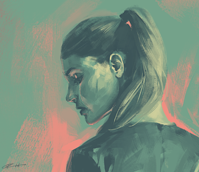 Warm-up Portrait by Roggles
