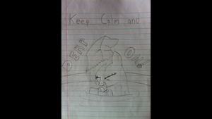 Keep Calm and Derp On! by LegoGuy87