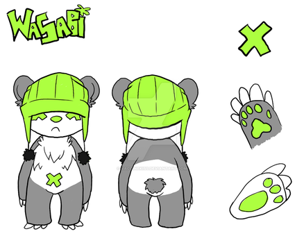 wasabi: reference by Vaccinekiss