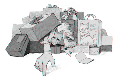 Death by presents by knightic