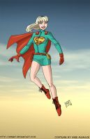 Supergirl by mhunt