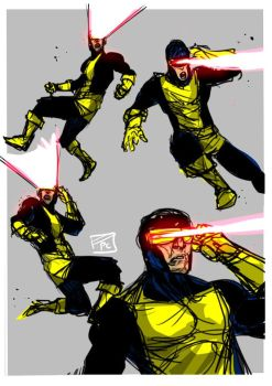Cyclops X men by Ultrafpc