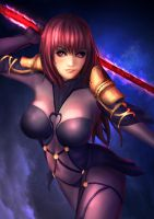 FGO Scathach by Galakushi
