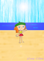 Lucy at the Beach by ConkerGuru