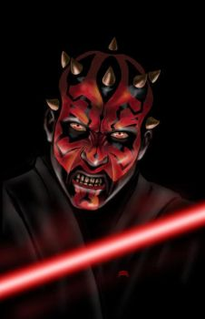 Darth Maul by Dan-DeMille