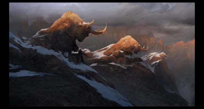 The Mountain Guard by valachhim