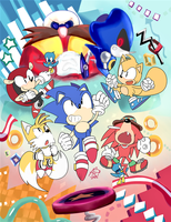 Sonic Mania Plus by aoii91