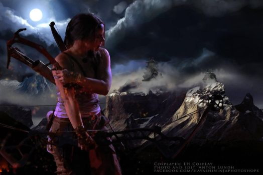 I hate tombs... Lara Croft - Tomb Raider by Torayami