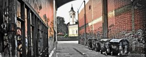 Kraljevo School Backyard by Mavko